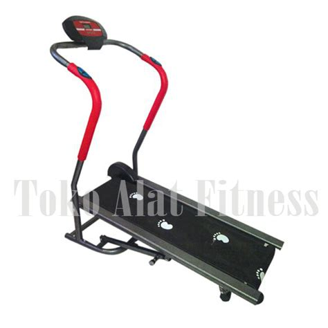 Alat Fitness Treadmil Manual Anti Gores 1 Fungsi Tl 002 Ag manual treadmill 1 fungsi tl 002 toko alat fitness
