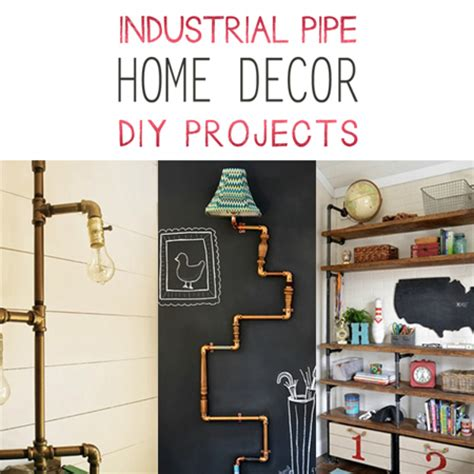 steunk diy industrial pipe home decor diy projects the cottage market