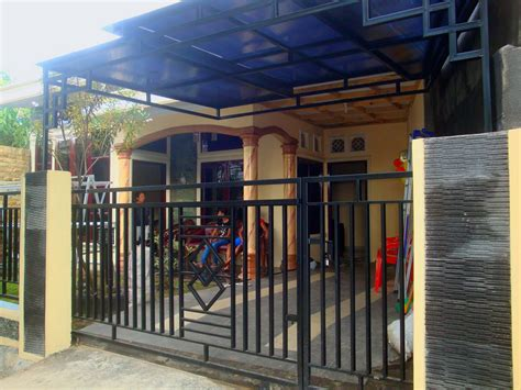 desain gambar pagar gambar desain pagar rumah modern minimalis terbaru