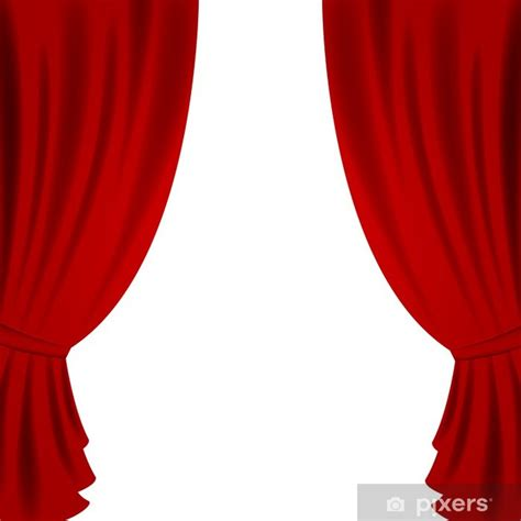 fototapete vektor illustration eines red theater vorhang