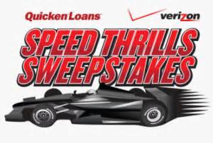 Verizon Sweepstakes Winner - verizon wireless and quicken loans speed thrills sweepstakes win 15 000 more