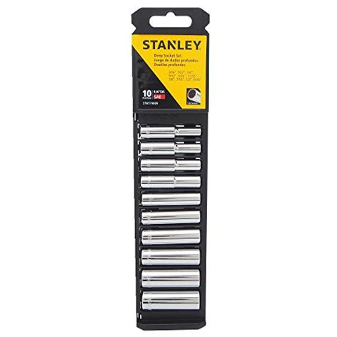 Stanley 88 187 1 23 Socket Std 12dr 12pt 36mm stanley stmt74869 1 4 quot sae socket set 10 new ebay
