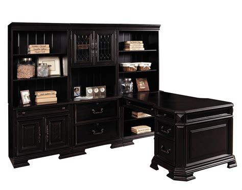 samuel lawrence furniture lexington 7 piece office set in