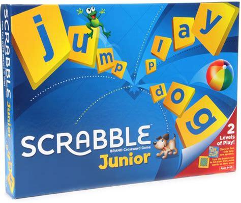 mattel junior scrabble mattel junior scrabble crossword board junior