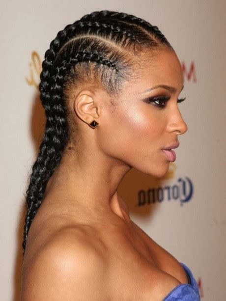 platted hairs styles for black women braids and plaits hairstyles