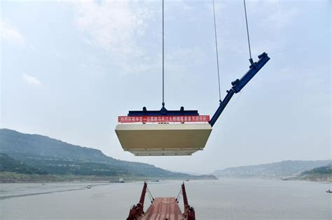 Fuma Box steel box girders hoisting of fuma yangtze river bridge