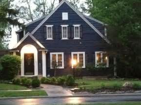 blue house white trim 17 best ideas about navy house exterior on pinterest