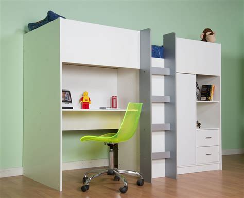 OXFORD FULL SIZE HIGH SLEEPER BED