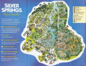 map of springs in florida theme park brochures silver springs theme park brochures