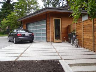 geometric house detached garage contemporary