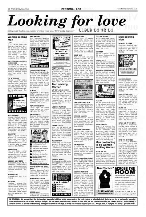 who s in that commercial archives page 2 of 4 adwhois the framley examiner personal ads 3