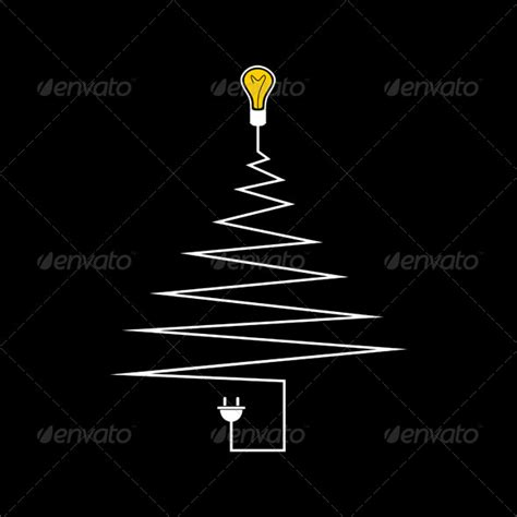 christmas tree electric parts electric tree graphicriver