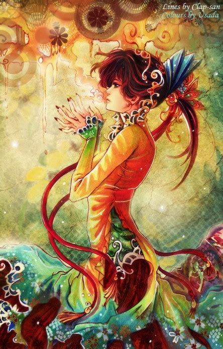 фото девушки рисунки искуство фентези арт аниме художник анимє арт priest usada