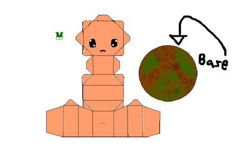 Papercraft Pumpkin - pumpkin papercraft by meganpaperheart on deviantart