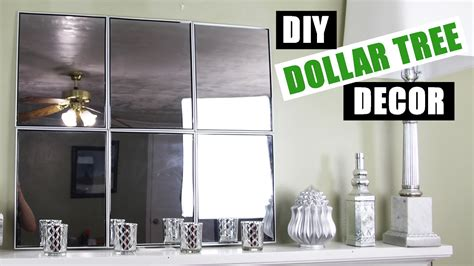 dollar tree diy mirror wall dollar store diy mirror