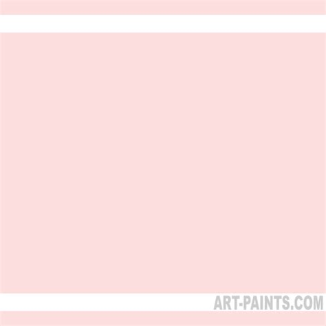 pale pink paint light portrait pink soft body acrylic paints 810 light