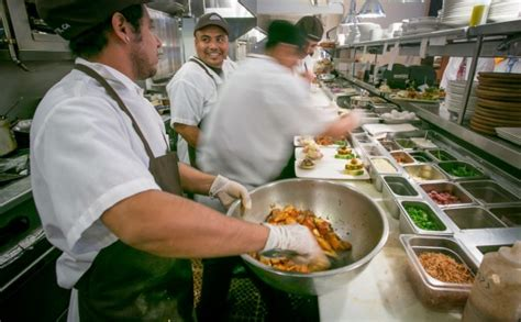 cook s report over 40 percent of restaurant workers live in near