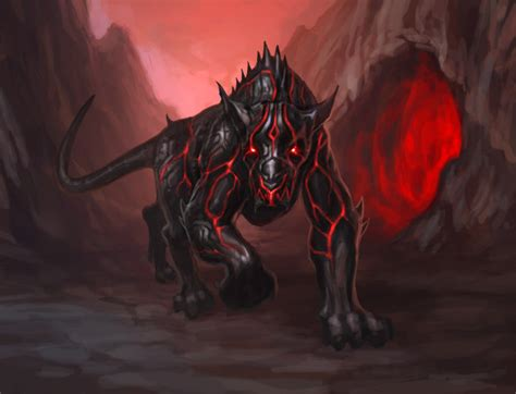 hellhound many cultures worldwide dog from underworld