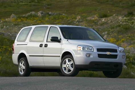 2006 chevy uplander cargo autoguide news