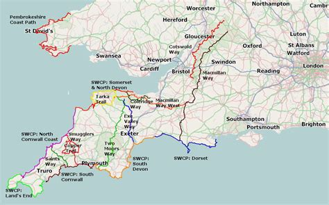 West Country self guided walking holidays from westcountry walking holidays