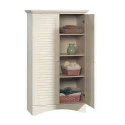 Laundry Storage Cabinet Antique White Bathroom Laundry Room Bedroom Linen Storage Organizer Cabinet Armoire