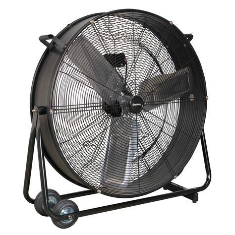 Garage Fan Sealey Industrial High Velocity Two Speed Garage Air Drum