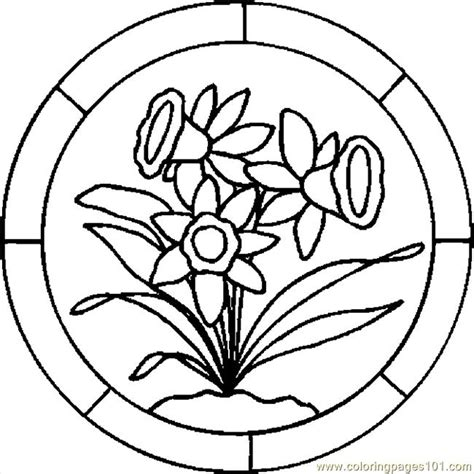 coloring pictures of easter lilies coloring coloringpage lilypad coloring 第15页 点力图库