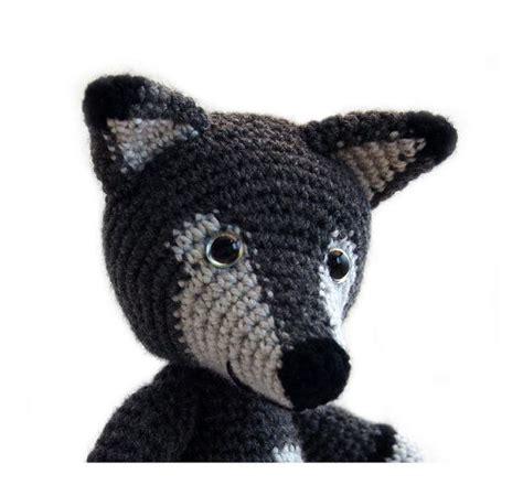 amigurumi pattern wolf crochet pattern wolf amigurumi instant download pdf
