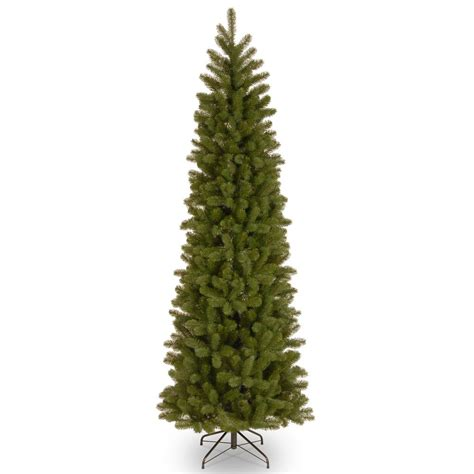 home depot 9 foot douglas fir artificial treee home accents 9 ft feel real downswept douglas pre lit slim tree pedd1 306l 90 the