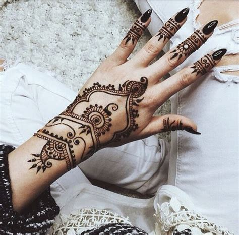 black henna tattoo tumblr henna flower design