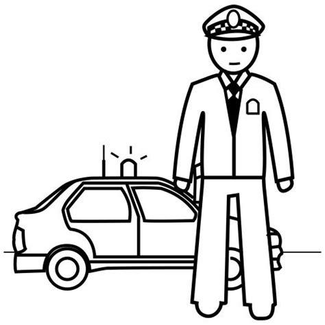 dibujos para colorear de policias estacion de policia dibujo www imgkid com the image