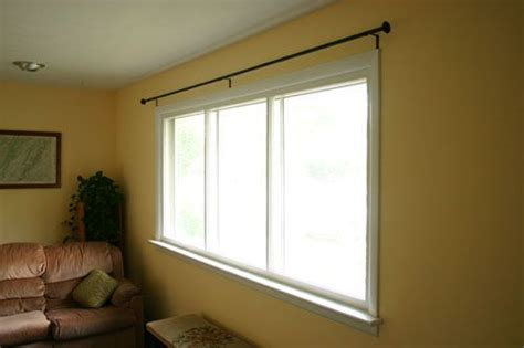 curtain rods for big windows pictures of curtain rods and big windows on pinterest