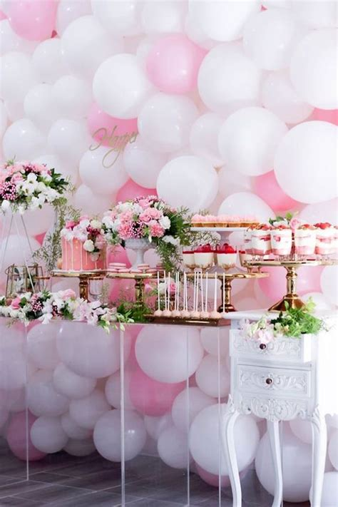 baby shower table decorations 31 cute baby shower dessert table d 233 cor ideas digsdigs
