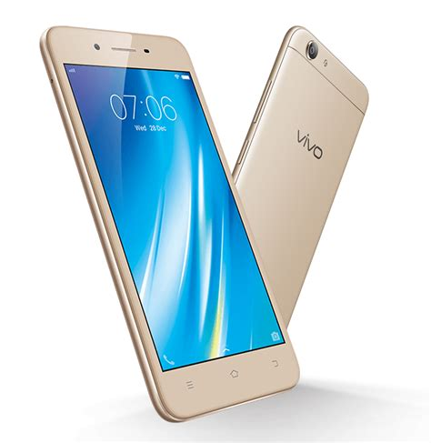 Vivo V5 Lite 3gb 32gb Crown Gold intogadgets product content