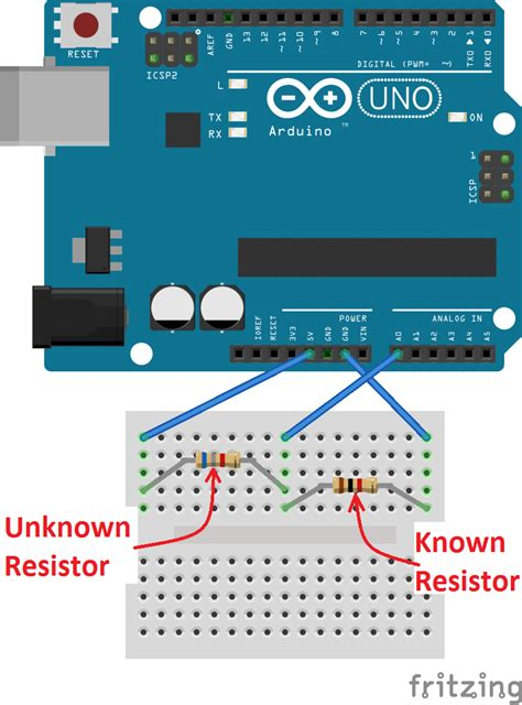 using resistors with arduino how to make an arduino ohm meter