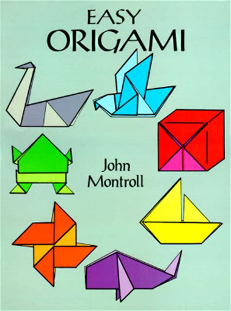 Basic Origami Shapes - easy origami by montroll