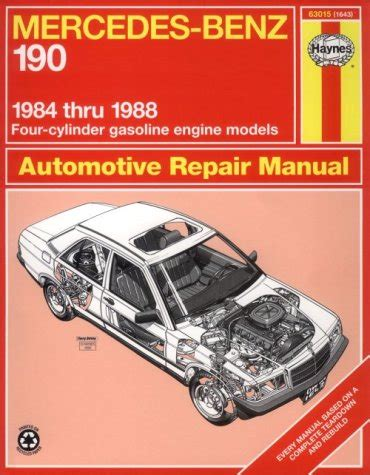 service manual small engine maintenance and repair 1988 1984 1988 mercedes 190 4 cyl gas engines haynes repair manual
