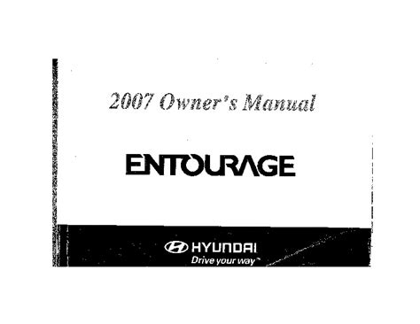 how to download repair manuals 2007 hyundai entourage head up display 2007 hyundai entourage owners manual
