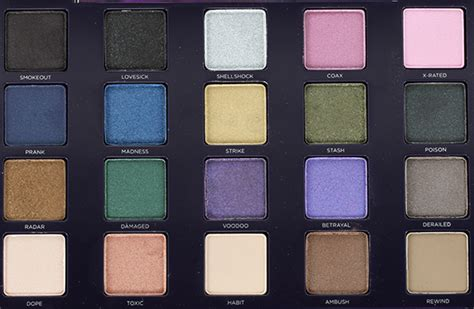 urban decay vice 2 eyeshadow palette review swatches urban decay vice 2 eyeshadow palette review swatches