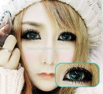 geo super nudy korean barbie doll eyes 3 tone contact