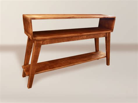 sofa table with bottom shelf open shelf sofa table with bottom shelf wood