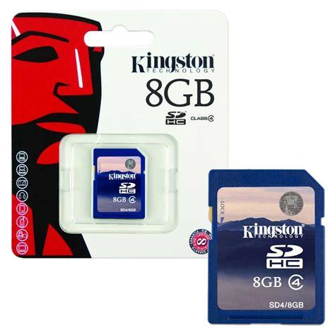 Memory Sd 8gb kingston sd sdhc memory cards class 4 8gb 16gb ebay