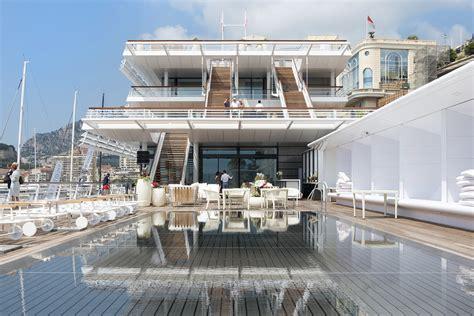 boat house yacht club yacht club de monaco foster partners archdaily