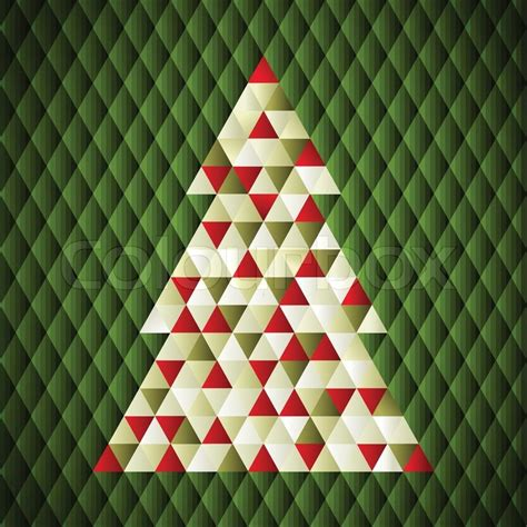 christmas tree new year pattern christmas background vector illustration merry christmas