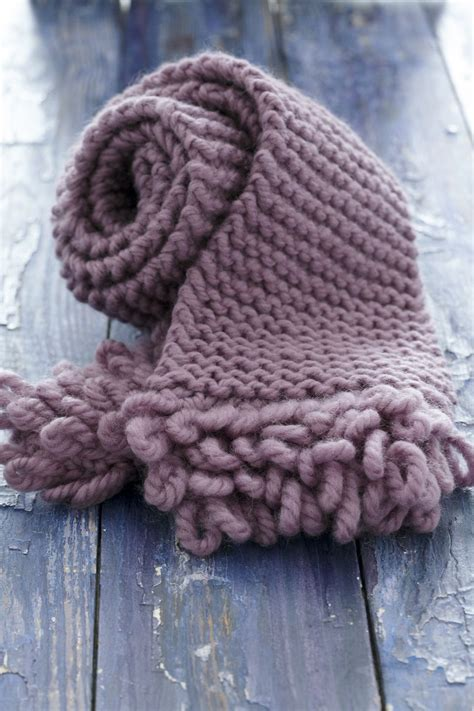 how to make a yarn scarf without knitting make a scarf with some of the bulky yarn in your stash