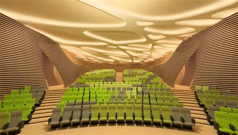 Spanish Home Plans by Saint Cyprien Auditorium French Movie Theater E Architect