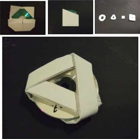 Origami Cd - architectural design origami cd