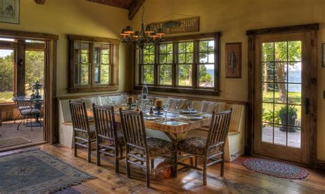 Large Rustic Dining Room Tables Ways Of Integrating Corner Kitchen Tables In Your D 233 Cor