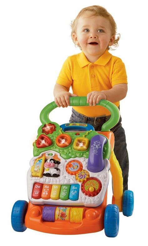 Baby Walker Ride On To Walk vtech sit to stand teaching car toys baby toddler
