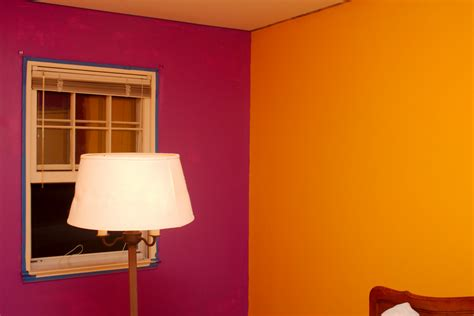 paintingbedroom two different colors of paint also gorgeous colours in room painting images
